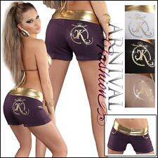 NEW SEXY DESIGNER HOTPANTS ladies SHORT PANTS online women's SEMI CASUAL WEAR sz