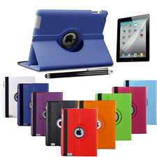 Leather 360 Degree Rotating Smart Stand Case Cover For APPLE iPad MINI2-3-4 Air