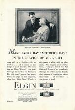 Vintage Magazine Ad - 1927 - Elgin Watch - Mother's Day