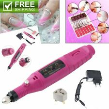 Polish Pen Shape Electric Nail Drill Machine Art Salon Manicure File Tool Set OG