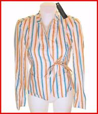 Bnwt Women's French Connection Striped Blazer Jacket Coat New RRP£105 Linen Mix