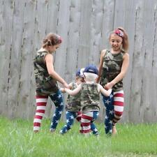2-7 Years Baby Kids Girl Boy Leggings Skinny Stretchy Pants Toddler Trousers New
