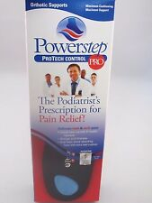 Powerstep ProTech Control PRO Orthotic Inserts-ALL Sizes!, Free Shipping!