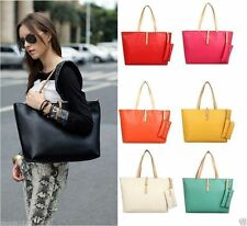 Women PU Leather Tote Shoulder Bags Hobo Handbags Satchel Messenger bag PurseBNG