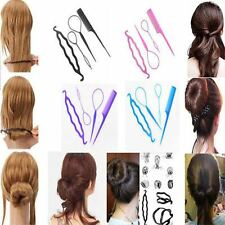 4pcs Magic Topsy Tail Hair Braid Ponytail Twist Styling Maker Clip ToolCO