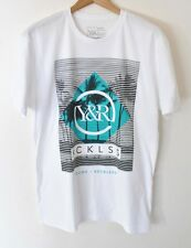 NWOT Young & Reckless Palm Tree Logo T-Shirt White size M-2XL