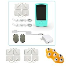 TENS Unit Tens Massager Digital Therapy Acupuncture Pads Machine White XVI 7000