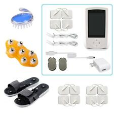 TENS Unit Tens Massager Digital Therapy Acupuncture Pads Machine TWO outputs M