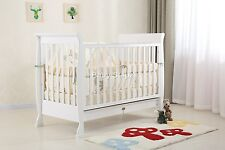 BRAND NEW BABY PORTABLE TRAVEL COT BASSINET PLAYPEN PORTACOT *REMOVABLE PLAYMAT*