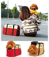 New Fashion Dog Tote Bag Pet Cat  Puppy Carried Hiking Fabric Backpack