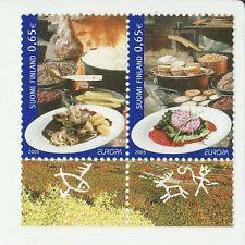 Finland 2005 MNH - EUROPA - Gastronomy - sey of 2 stamps