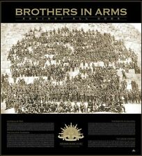 ANZAC SPIRT BROTHERS IN ARMS 100 YEARS OF GALLIPOLI PRINT CHEOPS PYRAMID