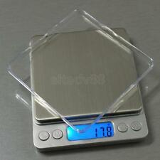 Digital Display Gold Silver Jewelry Gram Scale Weight Balance 5 Sizes Measure