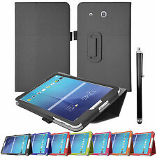 Smart Flip Leather Stand Case Cover For Samsung Galaxy Tab 3 / 4 / A / E