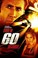 GONE IN 60 SECONDS 2000 Movie Silk Fabric Poster Nicolas Cage, Angelina Jolie