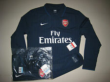 Arsenal 2009-10 NIKE Away English Premier League version L/S Player issue Shirt