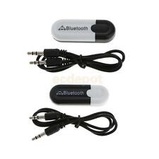 3.5mm USB Wireless Bluetooth Adapter Dongle Music Audio Stereo Speaker Receiver