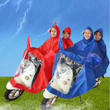 Waterproof Motorcycle Double-Person Raincoat Poncho Adult Hooded Raincoat BE