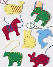 Lacing/Tracing Animals - Sorting, Stacking, Lacing Toys by Lauri (2562)