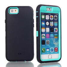 New Heavy Duty Hybrid Shock Proof Defender Rugged Case For iphone 6 6S