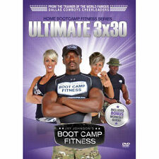Jay Johnson's Boot Camp Fitness: Ultimate 3x30 DVD