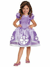 Sofia The First Disney Classic Royal Princess Toddler Girls Costume