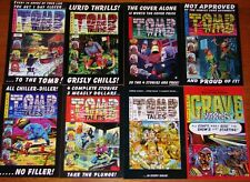 ToMB Tales & GRAVE Yarns - Complete MINT Set!  Covers by the 1950's EC Artists!!