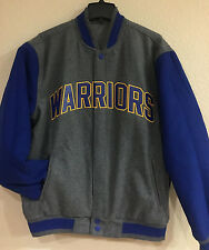 Golden State WARRIORS Wool Reversible Jacket with Embroidered logos applique