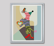 Dog Poster Print Wall Decor Funny Dog Humor Puppy Animal Cute Glossy Painting
