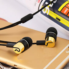 Super Bass Stereo Braided Headphone Earphone In-ear Headset for Cellphone MP3/4