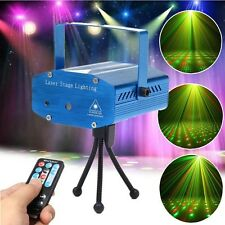 Hot Mini Projector R&G DJ Disco Light Stage Xmas Party Laser Lighting,remote