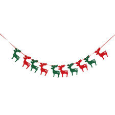 MERRY CHRISTMAS BANNER/GARLAND BUNTING/HANGING XMAS PARTY WALL,HOME DECORATION