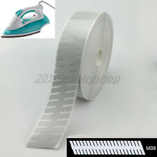 "Safety Silver Reflective Tape Fabric Iron On Heat Transfer Film 2"" M09"