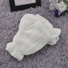 Cute Winter Women Thicken Stretchy Warm Half Finger Fingerless Gloves BE