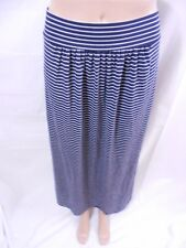 Gap NWT!! Navy & White Elastic Maxi Skirt Summer Perfect! Striped Shirred XS