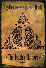 HARRY POTTER AND THE DEATHLY HALLOWS - FRAMED MOVIE POSTER (DEATHLY HALLOWS)