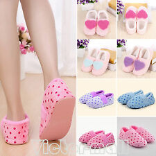 Womens Girls Winter Warm Soft Plush Sandal Antiskid Indoor Home Slippers Shoes