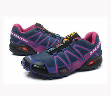 New Women's Salomon Speedcross 3 Athletic Running Outdoor Hiking Shoes