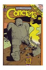 Dark Horse Comics Concrete #8 Paul Chadwick 1987 VF/VF+ Rare Environmentally