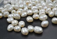 wholesale 200 PCS 9-10*11-12mm full hole Freshwater pearl Baroque beads