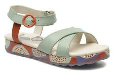 Camper for Kids 'Pinya' Pale Green Wedge Sandals Brand New In Box