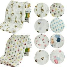 Baby Infant Swaddle Cotton 115*115cm Unisex Baby Bassinet Sleeping Wrap Blankets