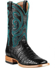 Ariat Stillwater Authentic Caiman Belly SqToe Exotic Boot 10011792 FREE SHIPPING