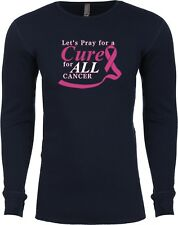 Mens Breast Cancer Awareness Pray For A Cure Thermal