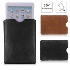 """Soft Protector Leather Sleeve Bag Pouch Cover Case For 8"""" 9"""" 10"""" Tablet PDA"""