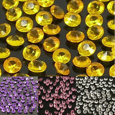 Multicolor Plastic Acrylic Diamond Decoration Crystals Wedding Supplies 1000pcs