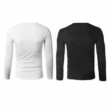 2016 New Hip Hop Style Round Neck Long Sleeve Korean Style T-Shirt Tops BE
