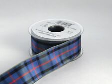 Authentic Flowers of Scotland Tartan Plaid Ribbon, 25 yards, choice of 5 widths