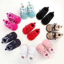 Baby Boy Girl Boots Shoes Winter Lace-Up Warm Boots Shoes Soft Sole Shoes 12-18