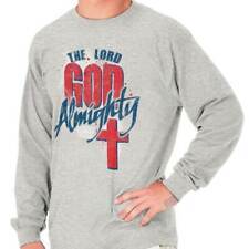 Lord God Almighty Jesus Christian T Shirts Jesus Christ Gift Long Sleeve Tee